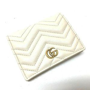 GUCCI GG Mermont Business Card holder Card Case PV